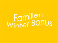 Familien Winter Bonus 2021