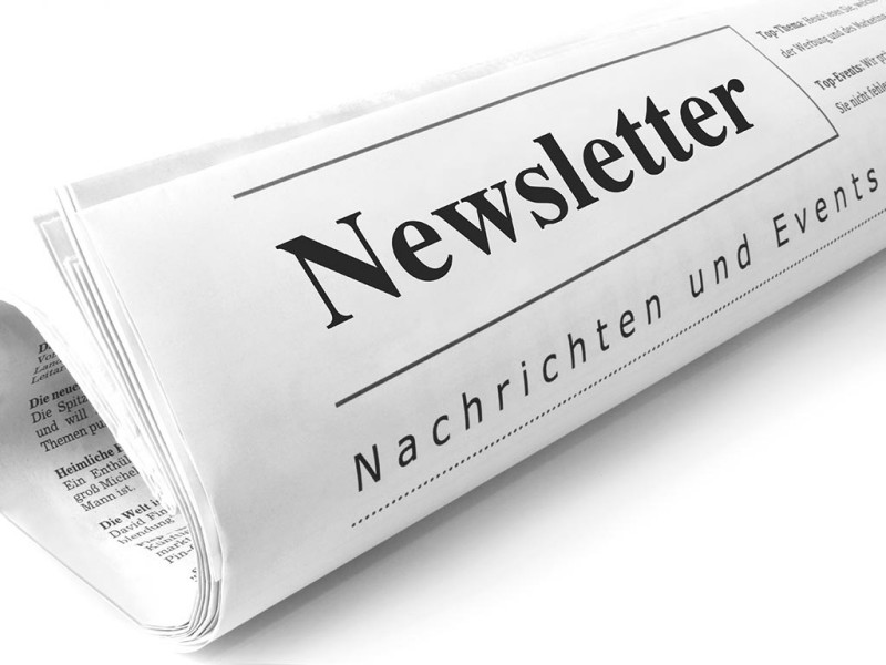 Newsletter immatriculatione